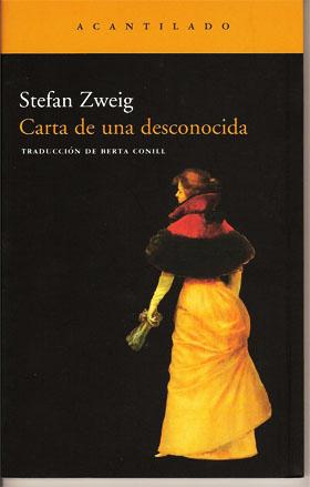 Carta de una desconocida de Stefan Sweig