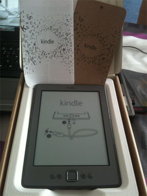 Kindle 4 de Amazon
