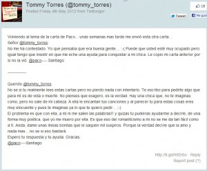 Querido Tommy - Tommy Torres