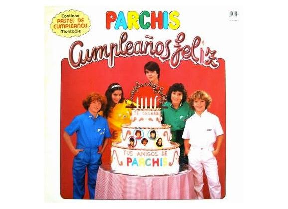 Cumpleaños feliz - Parchís