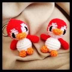 Mini Pingüino Amigurumi