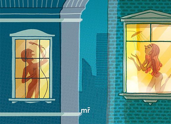 El chico de la ventana del baño de Lady Reynolds